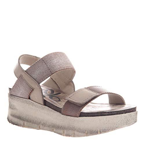 OTBT Women's Nova Wedge Sandals - Silver - 9.5 M US