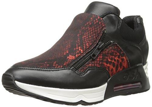 BIS Lenny Women's Red Ash Black Sneaker Fashion qwFnCO