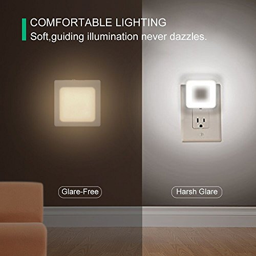 2Pack-Vintar-Plug-In-Led-Night-Light-with-Auto-Dusk-to-Dawn-SensorAdjustable-brightness-Warm-White-lights-for-HallwayBedroom-kids-Room-Kitchen-Stairway
