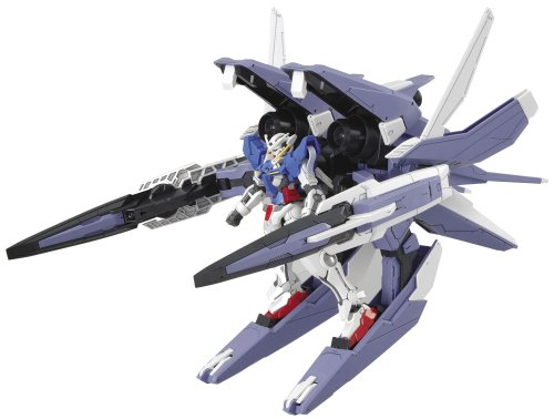 00 Gundam Exia Transform Mode + GN Arms Type GUNPLA HG High Grade 1/144