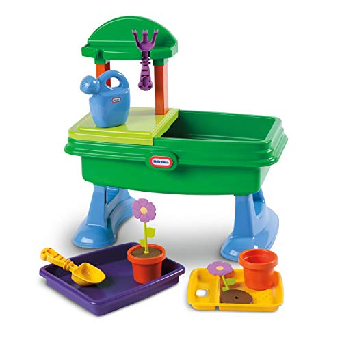 The Little Tikes Garden Table Play Set (Renewed)
