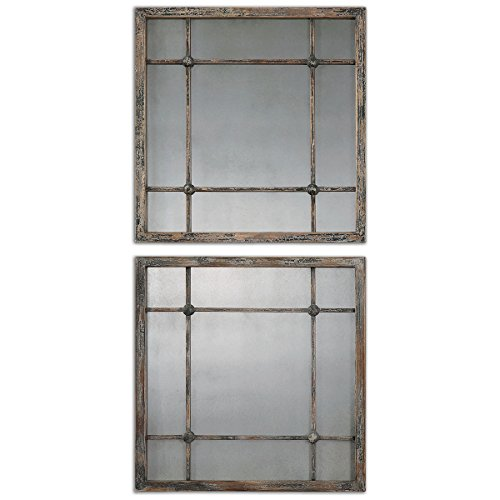 Uttermost 13845 Saragano Square Mirrors product image