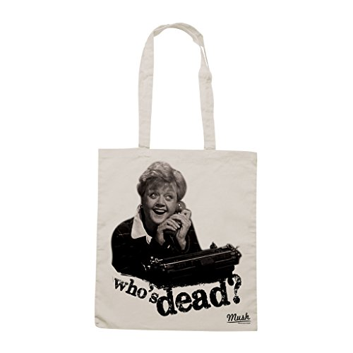 Borsa SIGNORA FLETCHER TELEFONO. WHO IS DEAD - Sand - FILM by Mush Dress Your Style