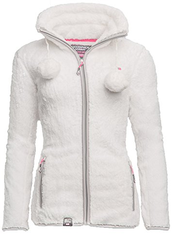 Geographical Norway - Blouson - Femme Blanc blanc