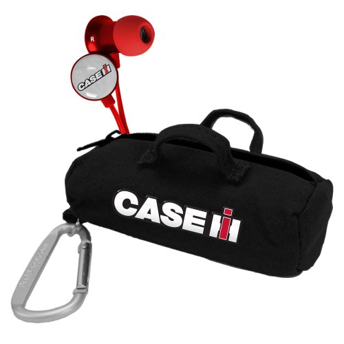 Case IH Red Scorch Earbuds w/ Budbag from AudioSpice
