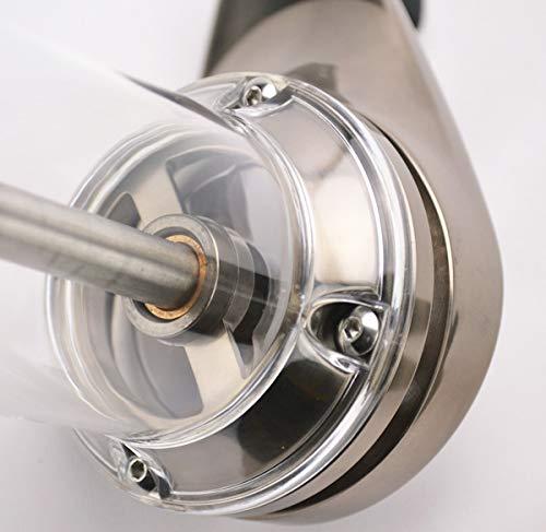 Lido 2 Manual Espresso & Coffee Grinder | 48mm Swiss Conical Steel Burrs | Stepless Grind Adjustment