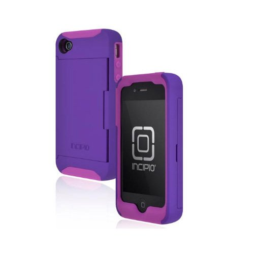 Incipio IPH-679 Stowaway Credit Card Case for iPhone 4/4S -