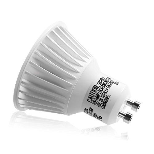 Le 10 pack dimmable gu10 led light bulbs 50w halogen bulbs le 10 pack dimmable gu10 led light bulbs aloadofball Choice Image