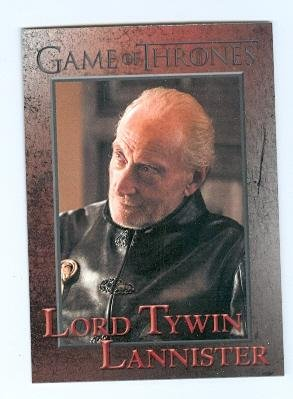 Lord Tywin Lannister trading card 2014 Game of Thrones #64 Charles Dance from Autograph Warehouse