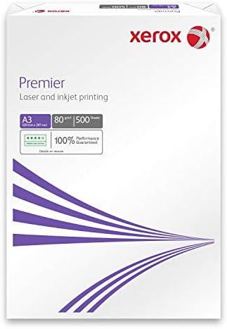 Xerox 003R91832 Premier ECF Kopier-, Druckerpapier, DIN A5, 80 g/m², 2500 Blatt, weiß