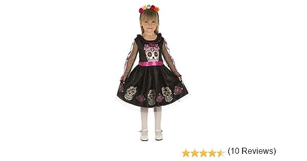 My Other Me Me-204034 Disfraz de calaverita para niña, 7-9 años ...