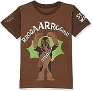 Camiseta Star Wars Chewie Infantil, Piticas, Criança Unissex