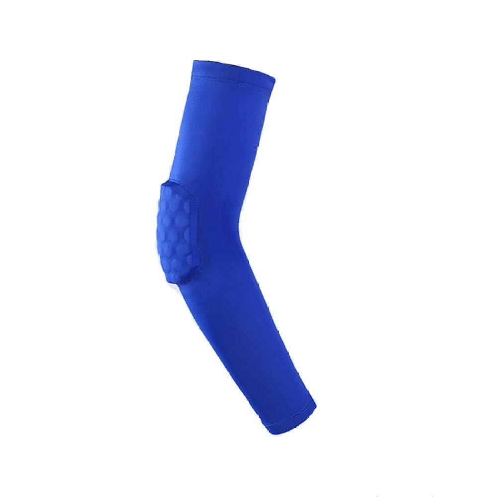 Spfree Prot/ège-Coudes Extensibles et Respirants antid/érapant en Silicone; Protection Anti-Collision en nid dabeille