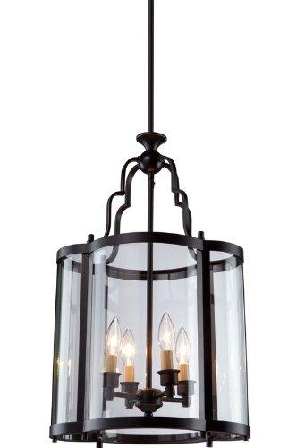 Artcraft Lighting Estate 4-Light Chandelier, Dark Bronze