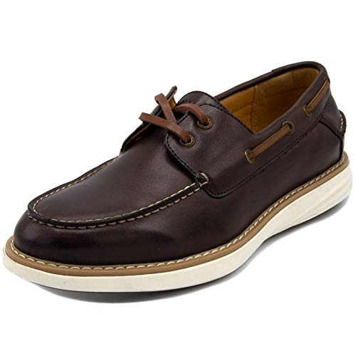 (Nautica Men's Oxford Shoe Fashion Sneaker-Nueltin Sport 2-Brown Tan Smooth-12 )