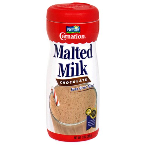 - Carnation Malted Milk, Chocolate, 13-Ounce Jars (Pack of 3)