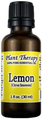 Huile Essentielle de Citron. 30 ml (1 oz). 100% pur, non dilué, catégorie thérapeutique.