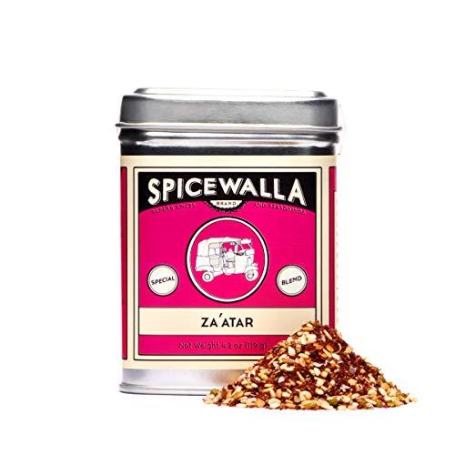 Spicewalla Zaatar Spice 1.5 oz | Non-GMO, No MSG, Gluten Free | Middle Eastern Zatar, Zahtar Spice (Whole Roasted Cauliflower With Yogurt And Herbs)