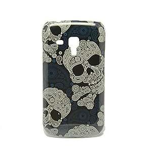 CL - Modelo de los cráneos fresco IMD duro caso Craft para Samsung Galaxy Duos S7562 Tendencia
