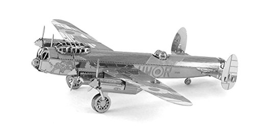 Fascinations Metal Earth Avro Lancaster Bomber Airplane 3D Metal Model Kit (Small Model Airplanes)