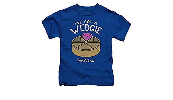 Details about  /TRIVIAL PURSUIT WEDGIE Toddler Kids Graphic Tee Shirt 2T 3T 4T 4 5-6 7