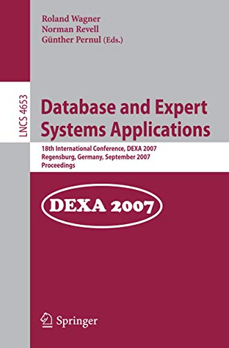 Database and Expert Systems Applications: 18th