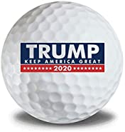 Donald Trump Keep America Great 2020 3pk Golf Balls