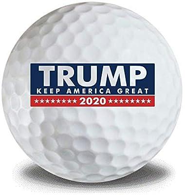 Donald Trump Keep America Great 2020 3pk Golf Balls