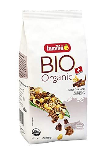 Familia BIO Organic Swiss Granola, Chocolate & Amaranth, 13-Ounce Bag