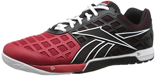 Reebok Men's Crossfit Nano 3.0-M, Black/White/Excellent Red, 7.5 M US