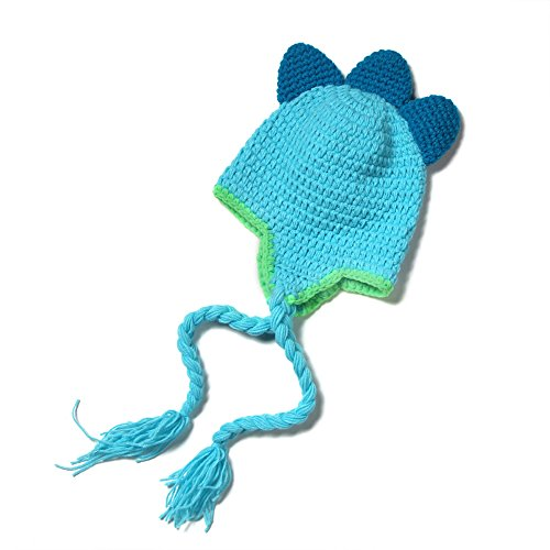 elee-newborn-baby-dinosaur-knit-crochet-clothes-beanie-hat-outfit-photo-props-4