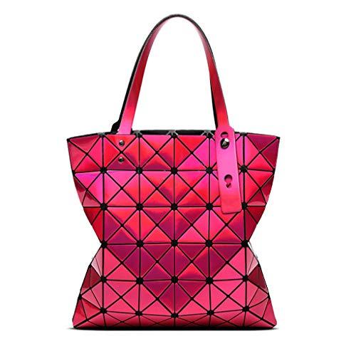 borsa geometria spalla del di Geometry della della di delle donne della personalità di pieghevole personalità spesa bicicletta della Sacchetto borsa spalla della della di mano di sacchetto xwYp8a8qT