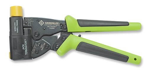 Greenlee Pa8111 Jack Terminator Tool W/ Hubbell Head Set by Greenlee