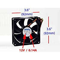 PartsCollection BP31-00024A (Samsung Lamp Fan: 3.6 x 3.6 x 1)