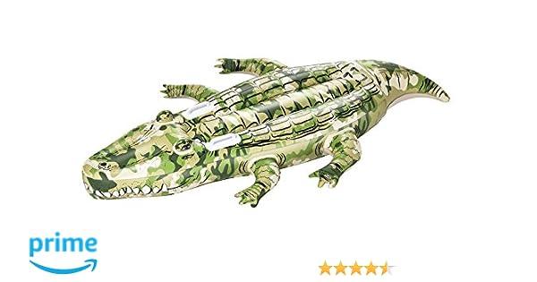 Cocodrilo Hinchable Bestway Camo 175x102 cm: Amazon.es: Juguetes y ...