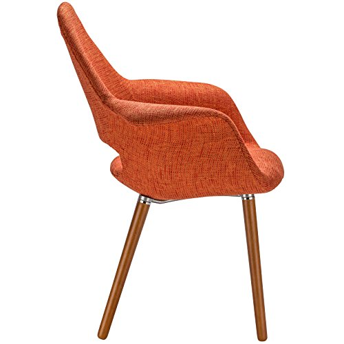 Poly and Bark Barclay Dining Chair in Orange (Set of 2) by Poly and Bark (Image #4)