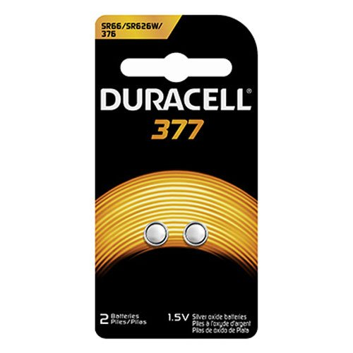 - Procter & Gamble 67848 DURA2PK 1.5V 377Battery