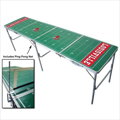 LSU Tigers 2x8 Tailgate Table by Wild Sports by Wild Sales
