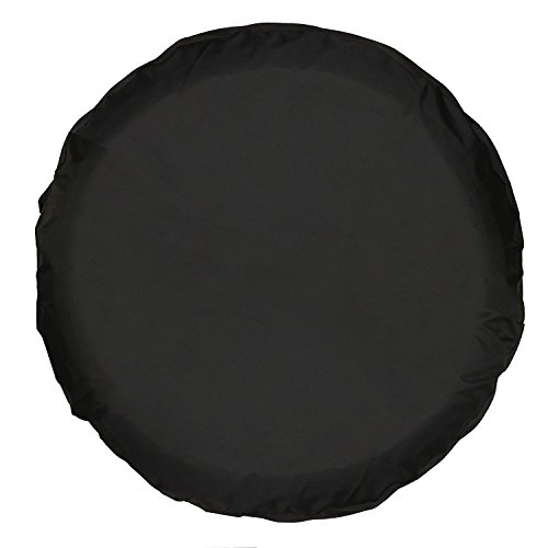 Duty Wheel Cover Heavy Canvas (Universal Spare Tire Cover Black (16 inch))