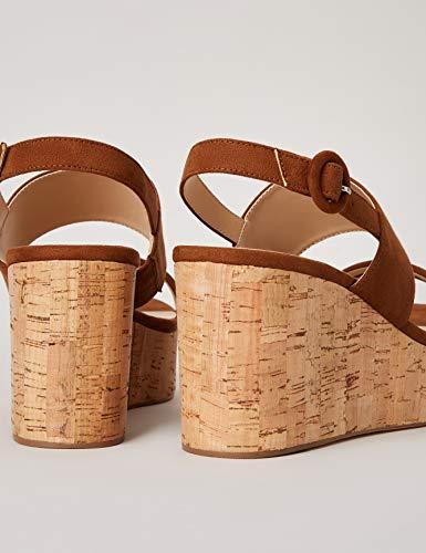 Marchio Amazon – find. – Scuba-s-1a-4, Scarpe col tacco punta aperta Donna