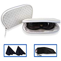 Soft Eyeglass case medium and Large soft Sunglasses case for Women | Slip in Pouches, Squeeze Top Cases, soft readers case