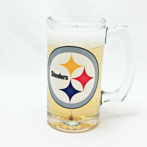 Pittsburgh Steelers Beer Candle - Mineral Oil Based Gel Candle MADE IN USA