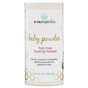 Baby Powder Talc Free – USDA Certified Organic Dusting...