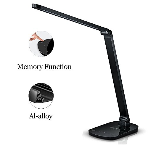Guanya F118 Dimmable Energy Efficient Aluminum Alloy LED Desk Lamp Arm With T