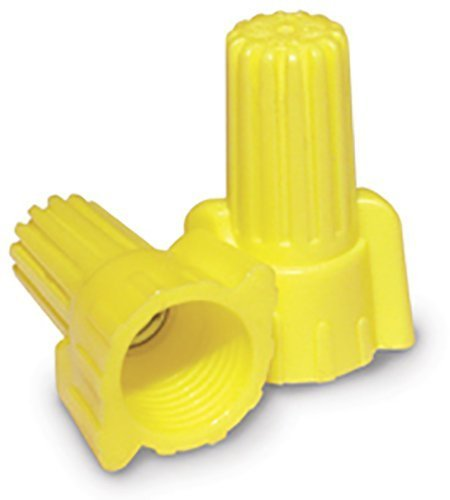 (King Innovation 67071 Contactors' Choice Yellow Wing Wire Connector, Pack of 500)
