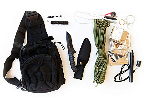 Coobera Survival Backpack Kit with Emergency Tactical Gear ()