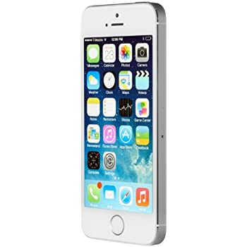 apple iphone 5s 16 gb unlocked silver certified refurbished cell phones. Black Bedroom Furniture Sets. Home Design Ideas