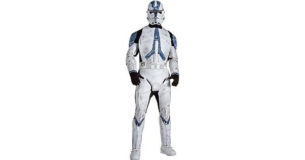 Amazon.com: Star Wars Clone Trooper Deluxe Adult Costume ...
