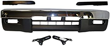 Filler For 1995-1997 Toyota Tacoma 4wd Bracket Front Bumper Chrome Valance