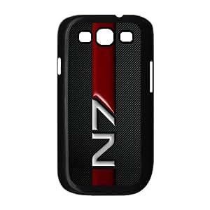 Samsung Galaxy S3 I9300 Phone Case for Classic theme Mass Effect N7 Logo pattern design GCTMSEFNL793526